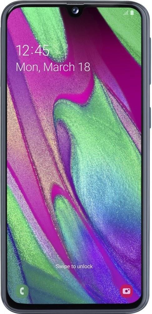 Samsung Galaxy A40, 64GB, Dual SIM, čierny