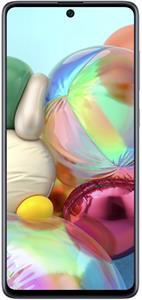 Samsung Galaxy A71, 128 GB, Dual SIM, strieborný