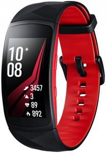 Samsung Gear Fit2 Pro, červeno-čierny