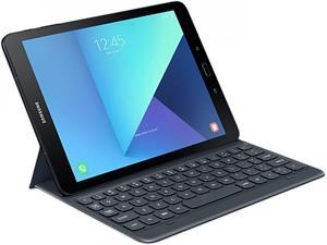"""Samsung polohovacie púzdro s klávesnicou pre Galaxy TAB S3, 9,7"""", sivé"""