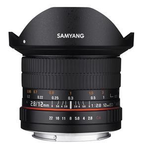 Samyang 12mm F2.8 Sony E, objektív