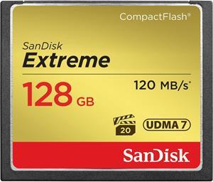 SanDisk Extreme CF 128GB 120MB/s UDMA7