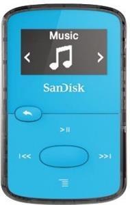 SanDisk MP3 Sansa Clip JAM 8 GB svetlá modrá