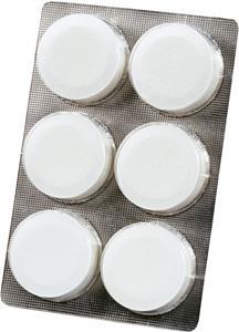 ScanPart Čistiace tabletky 6ks na vodný kameň