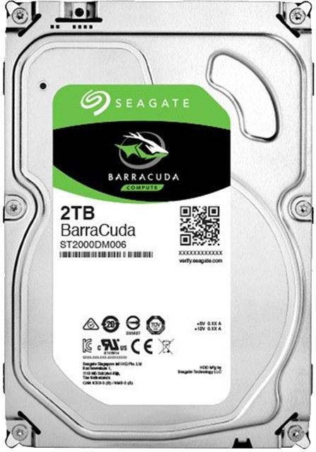 """Seagate Barracuda, 3,5"""", 2TB, 7200RPM, 64MB cache"""