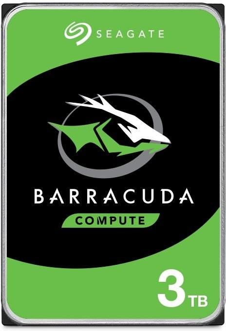 """Seagate Barracuda 3,5"""" HDD 3TB, 5400RPM, 256MB cache"""