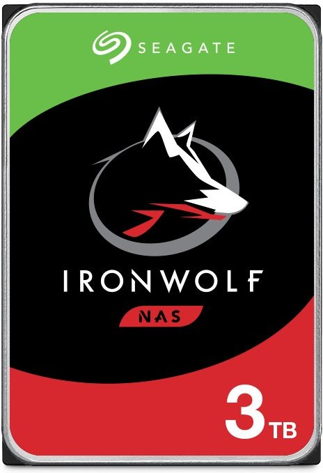 """Seagate IronWolf (NAS) 3,5"""" HDD 3TB, 5900RPM, 64MB cache"""