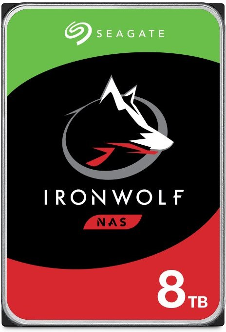 """Seagate IronWolf (NAS) 3,5"""" HDD 8TB, 7200RPM, 256MB cache"""