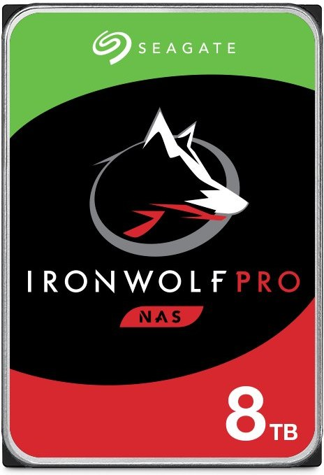 """Seagate IronWolf Pro (NAS) 3,5"""" HDD 8TB 7200RPM, 256MB cache"""
