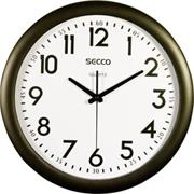 SECCO S TS6007-17 nástenné hodinky