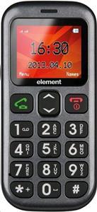 Sencor Element P001S, mobilný telefón, Dual SIM, čierny
