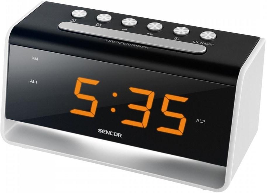 Sencor SDC 4400W, budík