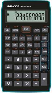 Sencor SEC 105 BU, kalkulačka vedecká, čierno-modrá