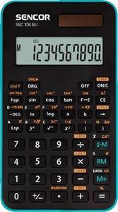 Sencor SEC 106 BU kalkulačka vedecká, čierno-modrá