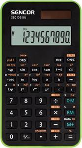 Sencor SEC 106 GN kalkulačka vedecká, čierno-zelená