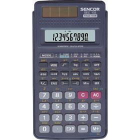 Sencor SEC 133 kalkulačka vedecká, šedá