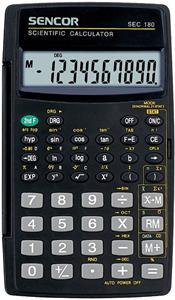 Sencor SEC 180, kalkulačka vedecká, čierna