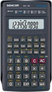 Sencor SEC 185, kalkulačka vedecká, šedá