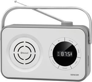 Sencor SRD 3200, rádio, biele