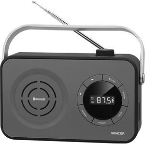 Sencor SRD 3200, rádio, čierne
