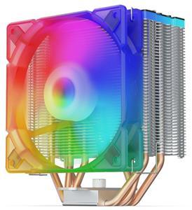 SilentiumPC chladič CPU Fera 3 EVO ARGB / ultratichý/ 120mm fan/ 4 heatpipes/ RGB/ PWM/ pro Intel i AMD