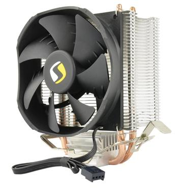 SilentiumPC chladič CPU Spartan LT HE922/ ultratichý/ 92mm fan/ 2 heatpipes/ PWM/ pro Intel i AMD