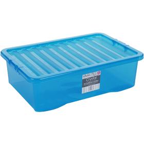 Skladovací box WHAM 10863 32l modrý