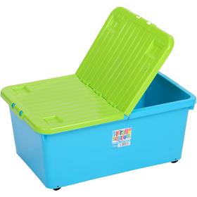 Skladovací box WHAM 12696 45l modrý