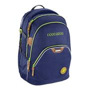 Školský ruksak Coocazoo EvverClevver2, Denim Blu, certifikát AGR