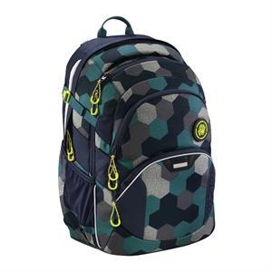 Školský ruksak Coocazoo JobJobber2,Blue Geometric Melange