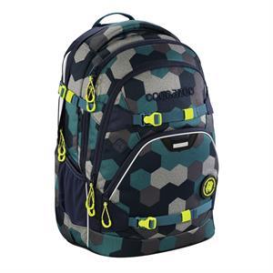 Školský ruksak Coocazoo ScaleRale, Blue Geometric Melange, certifikát AGR