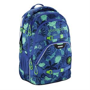 Školský ruksak Coocazoo ScaleRale, Tropical Blue, certifikát AGR