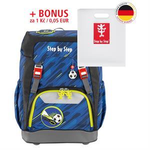 Školský ruksak Step by Step GRADE Fotbal + BONUS Dosky na zošity za 0,05 EUR