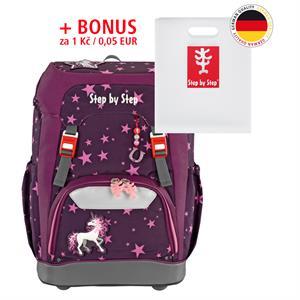 Školský ruksak Step by Step GRADE Jednorožec + BONUS Dosky na zošity za 0,05 EUR