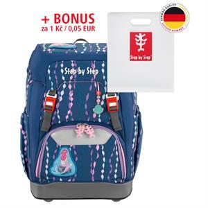 Školský ruksak Step by Step GRADE Morská víla + BONUS Dosky na zošity za 0,05 EUR