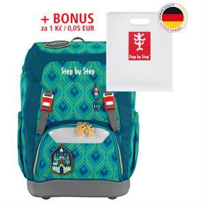 Školský ruksak Step by Step GRADE Zázračný zámok + BONUS Dosky na zošity za 0,05 EUR