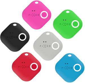 Smart tracker FIXED Smile s motion senzorom, 6-PACK, čierny, sivý, červený, modrý, zelený, ružový