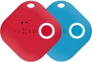 Smart tracker FIXED Smile s motion senzorom, DUO PACK-červený + modrý