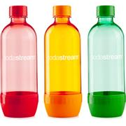 SODASTREAM fľaša TriPack ORANGE/RED/GREEN, 1l