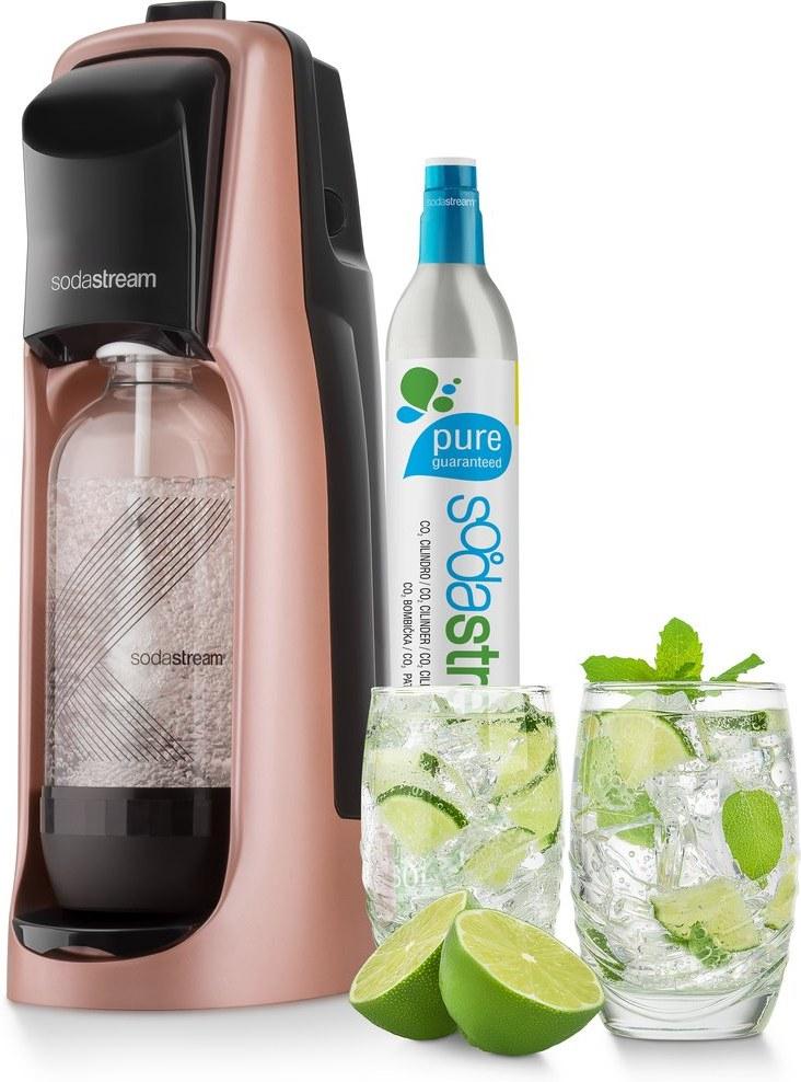 SodaStream JET Premium ROSE, výrobník nápojov