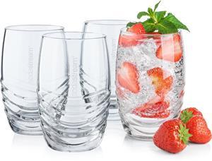 SODASTREAM sklenené poháre 4 x 330 ml