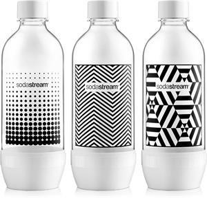 Sodastream TRIPACK 1l BLACK&WHITE, náhradné fľaše