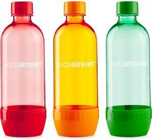 Sodastream TRIPACK 1l ORANGE/GREEN/RED, náhradná fľaša