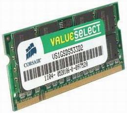 SODIMM DDR2 2GB Corsair 800 CL5 (VS2GSDS800D2)
