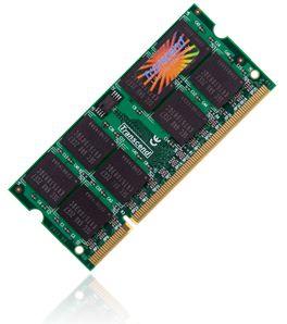 SODIMM DDR2 2GB Transcend 800 CL5 (TS256MSQ64V8U)