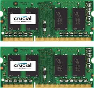 SODIMM DDRAM3 8GB (2x4GB) Crucial 1600MHz CL11 1.35V