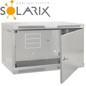 SOLARIX Nástenný rozvádzač SENSA 9U 400mm, plech