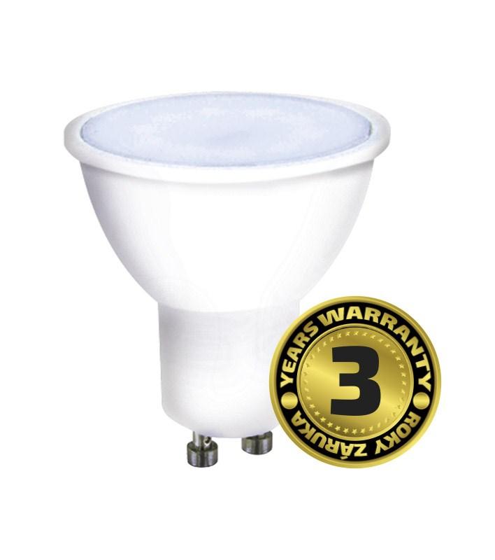 Solight WZ325A, LED žiarovka, bodová , 7W, GU10, 6000K, 500lm, biela