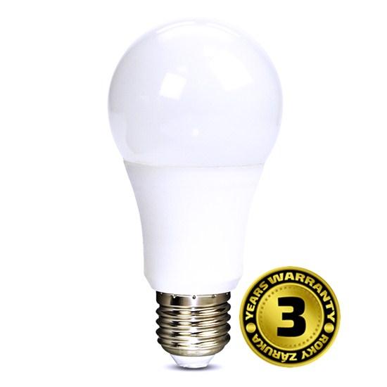 Solight WZ505, LED žiarovka, klasický tvar, 10W, E27, 3000K, 270°, 810lm