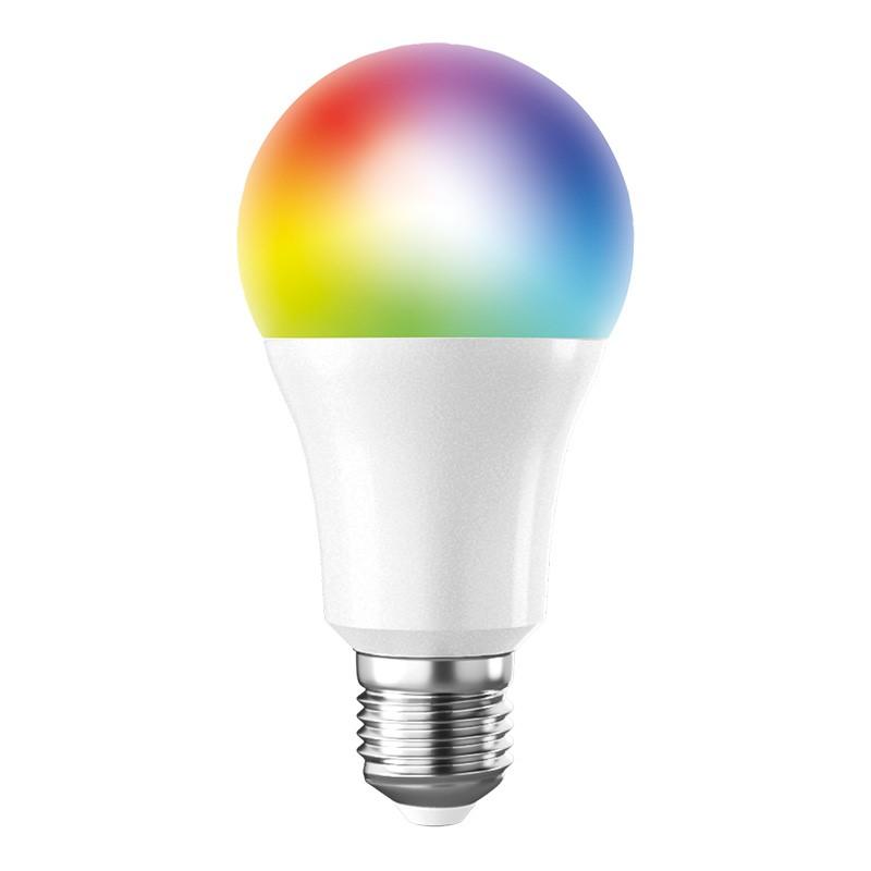Solight WZ531, LED SMART WIFI žiarovka, klasický tvar, 10W, E27, RGB, 270°, 900lm